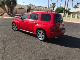2008 Chevy HHR LT with 45,700 original miles. Sells to highest bidder regardless of price at 10am sharp.  vin number 3gnda53p08s631346