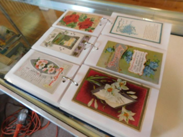 Antique greeting cards