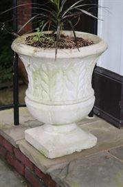 Cement Garden Urn