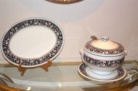 Decorative Serving Pieces, Wedgwood China Set - Florentine