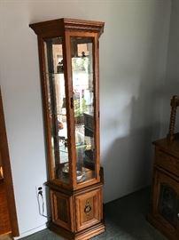 Curious who needs a curio cabinet!