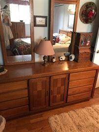 The matching dresser!