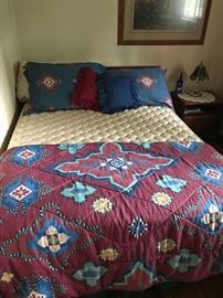 One of two clean good mattress sets!