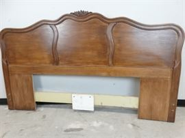 French Provincial King Headboard by Drexel