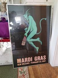 1982 Mardi Gras poster