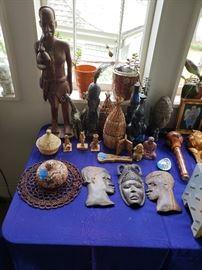 African/Liberian art