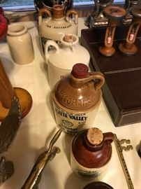 Old Whiskey Jugs