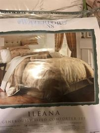 High End Waterford King Comforter Set- $840 New