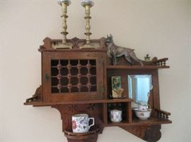 Art and Crafts Display Cabinet