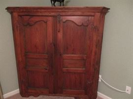 Country Corner Cabinet  Reclaimed original PA  barn wood