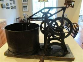 Antique Vegetable Chopper Great for Home or Restaurant Display