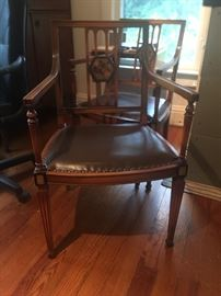 Pair of beautiful chairs-have springs in seats