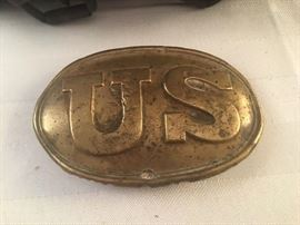 US Civil War Belt Buckle