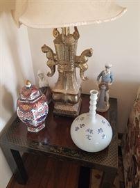 Asian decor and Llardos