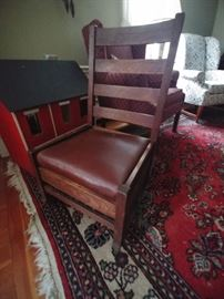 Stickley rocking chair $150.