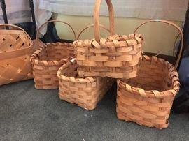 handmade split oak baskets