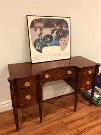Refinished desk/vanity