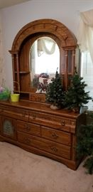 Lots of storage in this dresser with hidden compartments