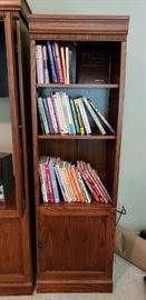 Cookbooks, decorating and religious books