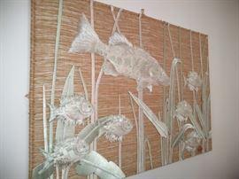 Don Freedman textile wall hanging