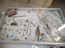 Lots of pretty sterling jewelry
