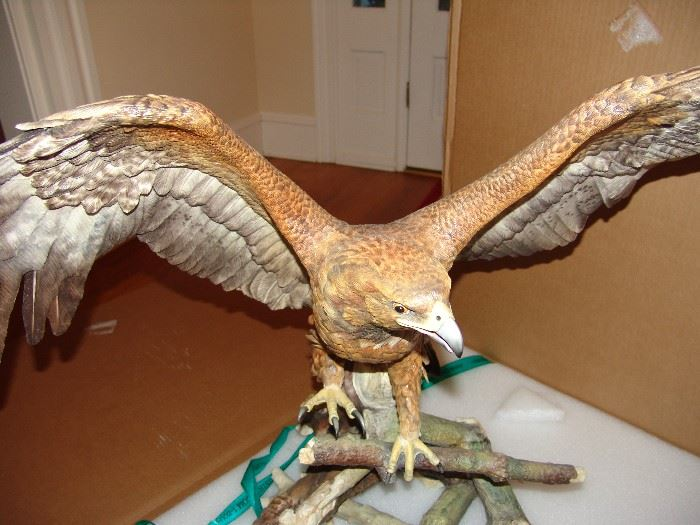 The Golden Eagle, front view