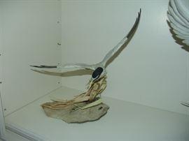 "American Boehm Porcelain, Least Tern, 190/350, approximately 15"" W x 15""L, 1979"