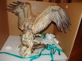 The Golden Eagle, rear view