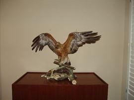 Golden Eagle on pedestal