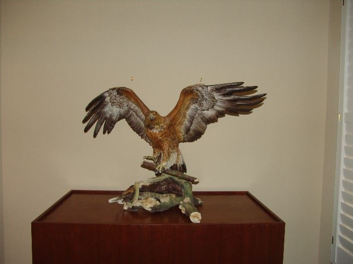 Golden Eagle on pedestal