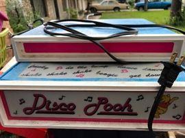 Vintage disco Pooh platform