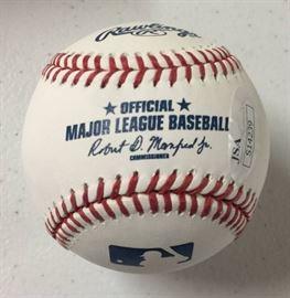 1 Signed Whit Merrifield Official Major League Baseb ...