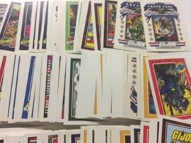 Huge Lot of Hundreds GI Joe Cartoon Trading Cards ...