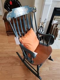 Wonderful Hickock Rocking Chair