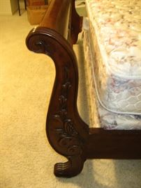 Detail of Headboard and Footboard...