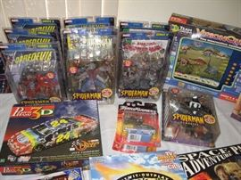 Some of the many New Never Opened Collectibles...