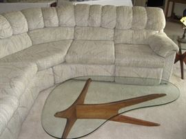 Sectional Penthouse Sofa, Matching Coffee Table, Two End Tables, Lots of Lamps...