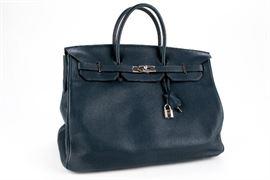 HERMES BIRKEN 40 BAG NAVY Item #: 91481