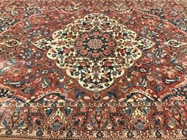 """A BEAUTIFUL HAND KNOTTED WOOL CARPET, 145"""" X 106"""" Item #: 91508"""