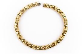 SUBSTANTIAL 18K YELLOW GOLD NECKLACE, 84 DWT Item #: 90355