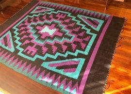 Navaho design rug