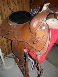 Three saddles available