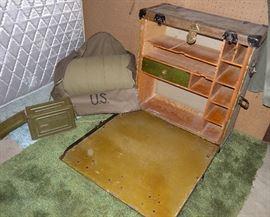 WWI Dental Field Desk, Medical Department, US Army
