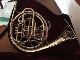 High end French Horn in excellent condition. Details to follow.