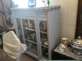 Unique Repurposed Curio Cabinet