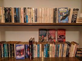 Vintage Science Fiction paperbacks