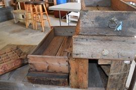 primitive drawers