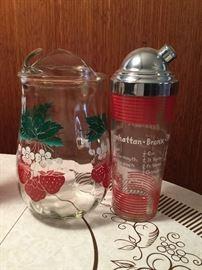 1950s glassware