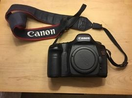 Canon EOS 5D with No Lens