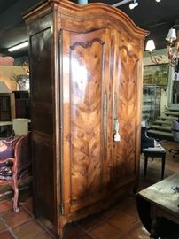 Gorgeous Armoire, inside set up for audio video components. Reg. 7800.00  Sale   5460.00